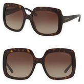 Michael Kors Habor Mist 55MM Oversize Square Sunglasses