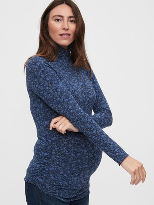 Gap Maternity Funnel-Neck Feather T-Shirt