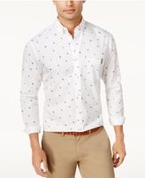 Club Room Men's Tossed Shield Button-Down Shirt, Only at Macy's