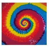 Old Glory Classic Spiral Pattern - Tie Dye Tapestry