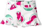 Love Moschino watermelon print shorts - women - Cotton/Spandex/Elastane - 40