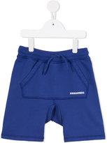 DSQUARED2 kangaroo pocket shorts - kids - Cotton - 6 yrs