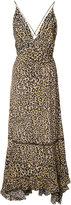 Derek Lam leopard print midi dress - women - Silk - 36