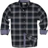 Islandia Men's Long Sleeve Casual Button Down Shirt