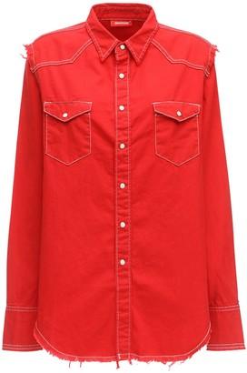 Denimist Oversize Cotton Cowboy Shirt