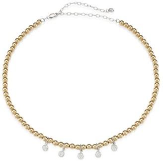 Sydney Evan 14K Yellow Gold & Diamond Baby Disc Charm Necklace