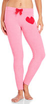 Betsey Johnson Lightweight Fleece Heart PJ Pants