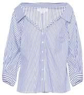 Velvet Rosetta striped cotton shirt
