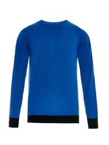 Balenciaga Bi-colour Cashmere Sweater