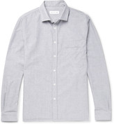 Hamilton And Hare - Brushed-cotton Pyjama Shirt