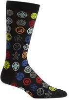 Ozone Men's Emblem Dots Socks (2 Pairs)