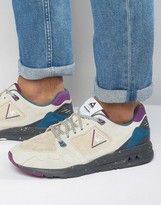 Le Coq Sportif R1000 90's Outdoor Trainers In White 1620288