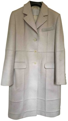 Prada White Wool Coats