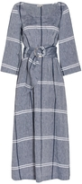 Suno Chambray Belted Dress