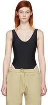 Yeezy Black Basic One-Piece Swimsuit