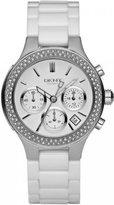 DKNY Women's NY4985 Ceramic Quartz Watch with Dial
