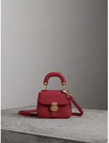 Burberry The Mini DK88 Top Handle Bag, Red