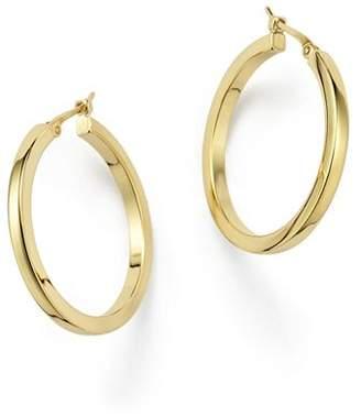 Bloomingdale's 14K Yellow Gold Square Hoop Earrings - 100% Exclusive