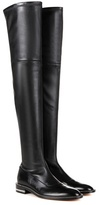 Givenchy Embellished over-the-knee leather boots