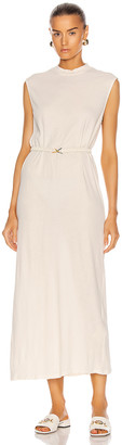 Raquel Allegra Mock Dress in Dirty White | FWRD
