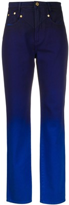 Alberta Ferretti Faded Jeans