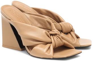 Mercedes Castillo Nora leather sandals