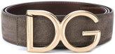 Dolce & Gabbana logo belt - men - Calf Leather - 90