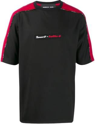 Numero 00 Numero00 x Lotto panelled-sleeves T-shirt