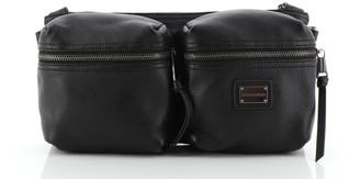 Dolce & Gabbana Double Waist Bag Leather