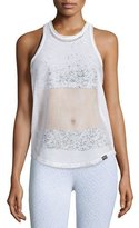 Koral Activewear Aerate Athletic Mesh Tank Top
