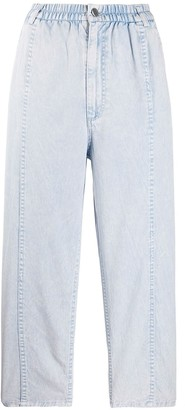 Rachel Comey Cropped Elasticated Waist Trousers