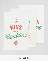 Brainbox Candy Turkey Sandwich Design Holidays Cards In 6 Pack