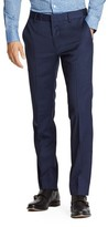 Bonobos Men's Jetsetter Slim Fit Flat Front Solid Stretch Wool Trousers