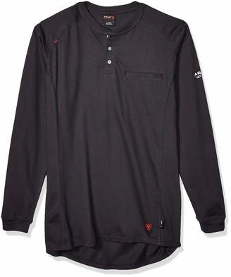 Ariat Men's Flame Resistant Air Long SleeveHenley Shirt