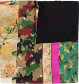 Pierre Louis Mascia Pierre-Louis Mascia printed panel scarf
