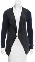 Elie Tahari Wool Long Sleeve Cardigan