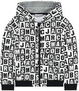 Little Marc Jacobs Print zip hoodie