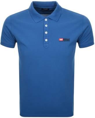 Diesel T Weet Polo T Shirt Blue