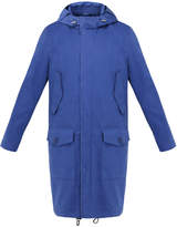 MACKINTOSH GMP-004B Sodalite Blue Cotton Water Resistant Hooded Coat