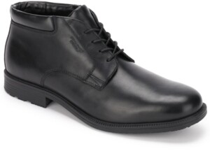 Rockport Men's Essential Details Waterproof Chukka Dress Boots Men's Shoes
