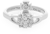 Vivienne Westwood Sterling Silver Reina Petite Ring Size XXS