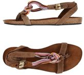Scholl Toe post sandal