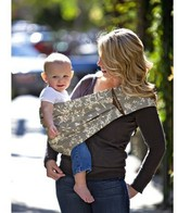 The Peanut Shell The Adjustable Sling Baby Carrier - Whisper