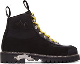 Off-White Black Cordura Hiking Boots