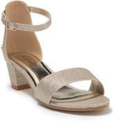 Nine West Tess Metallic Dressy Heeled Sandal (Little Kid & Big Kid)