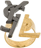 Saint Laurent logo ring
