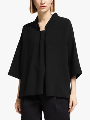 KIN Trapeze Kimono Top, Black