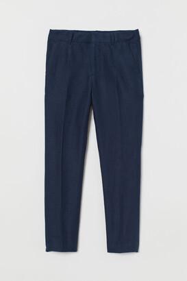 H&M Linen-blend Suit Pants