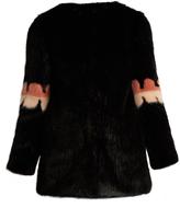 SHRIMPS Joseph faux-fur coat
