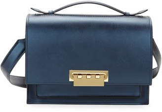 Zac Posen Earthette Leather Shoulder Bag